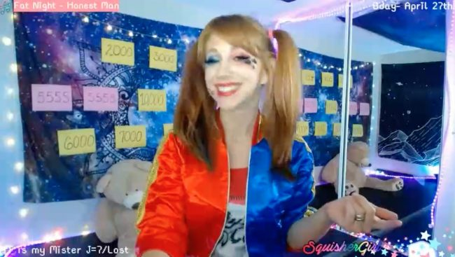 BdaySquish Is An Uncanny Harley Quinn