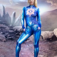 Cosplay Erotica's Nia Puts On Her Zero Suit