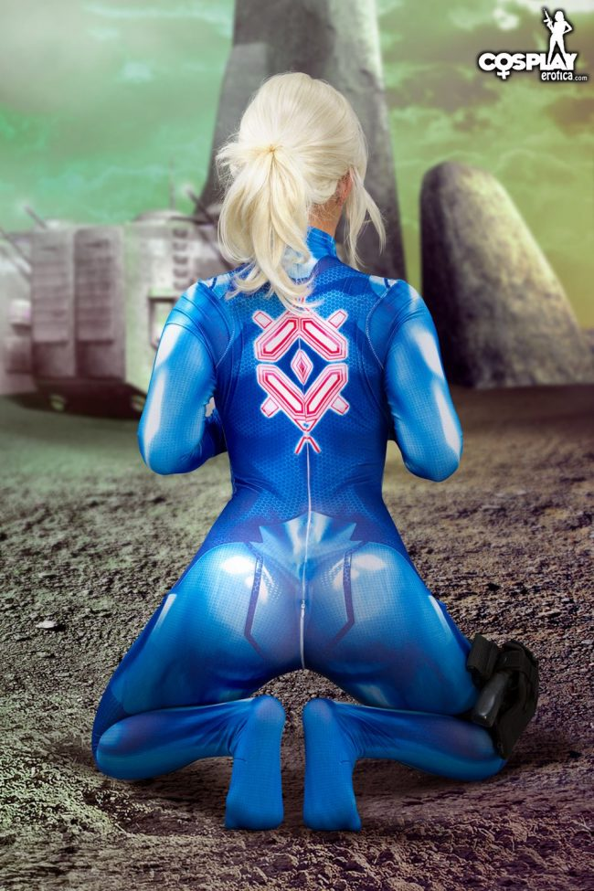 Cosplay Erotica's Ginger Is A Prime Samus Aran