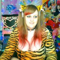 BabyZelda Has A Tiger-Rific Time