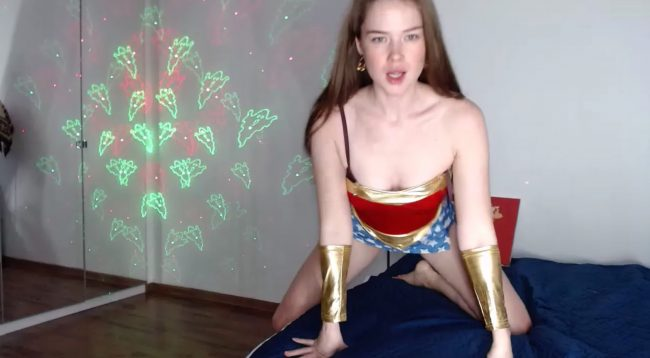 Lilouuve Shows Off Her Wondrous Costume