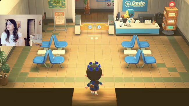 Scout Has Some Fun With Animal Crossing