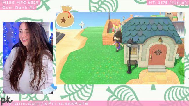 PrincessKate Goes Animal Crossing