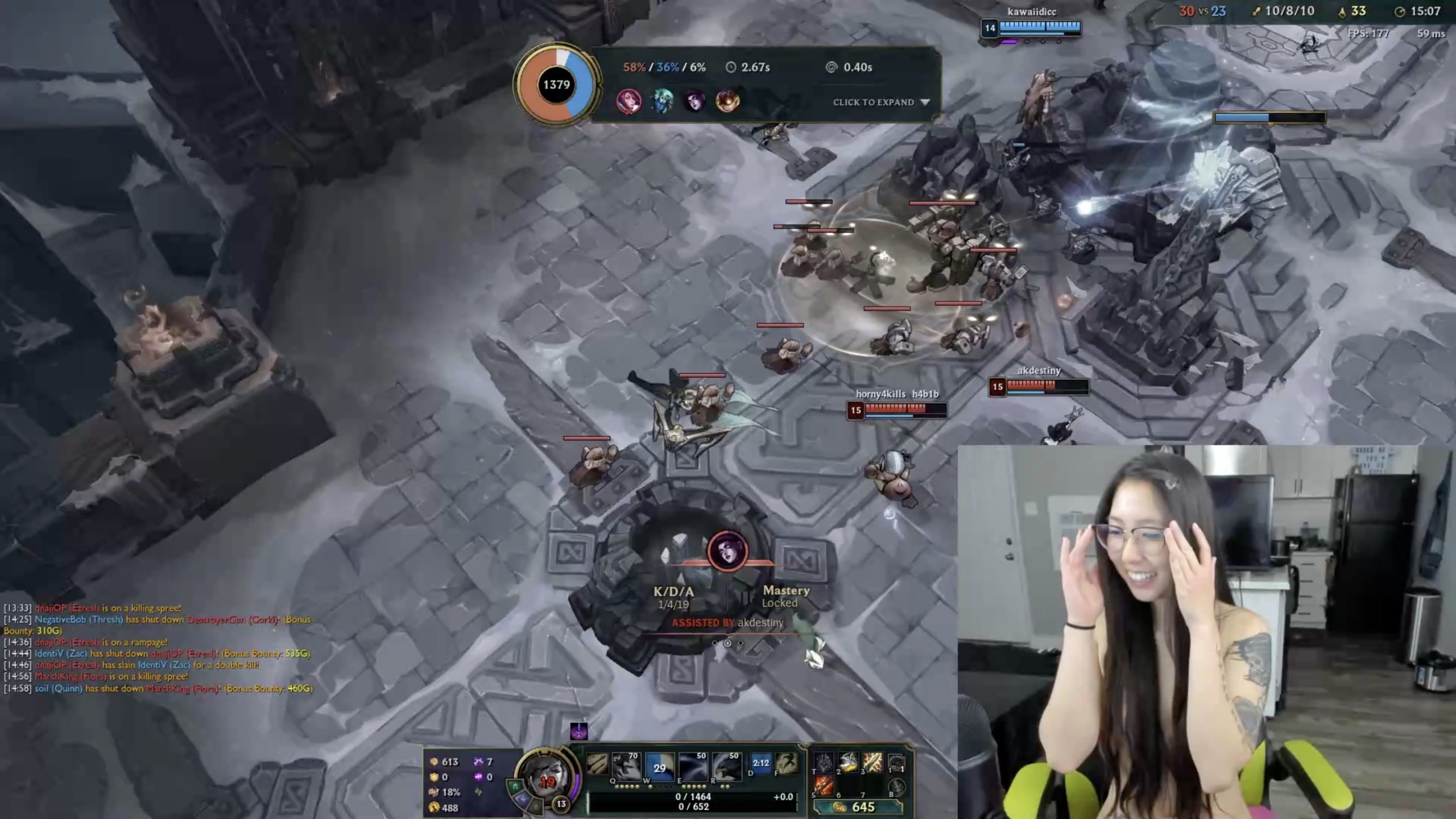 Koreanbunnybitch Has The Right Strategy To Win Every Battle