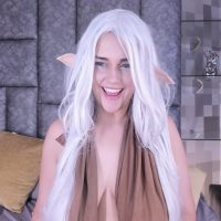 Cristina_Santana Welcomes Everyone To Her Elvish Paradise