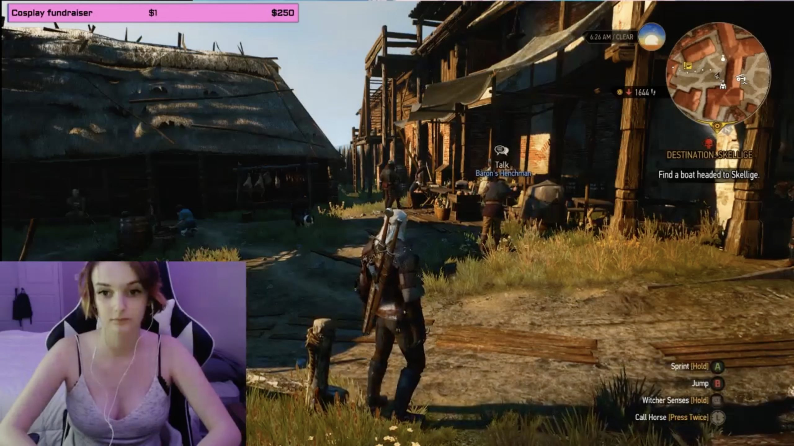 Sweet_Nymph Tosses A Coin To The Witcher