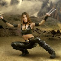 Cosplay Erotica Presents: Miley As X-23