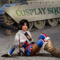 The Valkyria Chronicles With Cosplay Erotica's Mily
