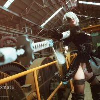 Fan Service Filled Nier Automata Cosplay