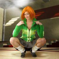 Cosplay Erotica's Corina Is Kung-Fu Fighting As Chie Satonaka