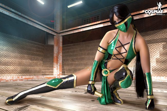 Cosplay Erotica's Ginger Is The Ultimate Fighter