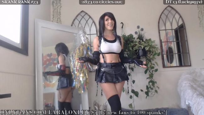 LaraLoxley Lifts Our Spirits With A Stunning Tifa Cosplay