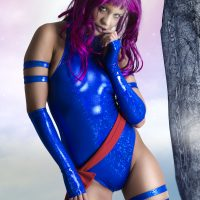 Cosplay Erotica's Ginger Is An Excellent X-Men Mind Reader