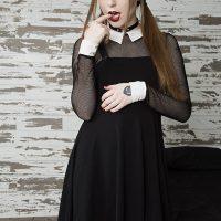 BlueBlood: Alice Kat's Sweet Shenanigans As Wednesday Addams