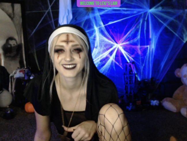 Meet Killer Nun LexiLewis