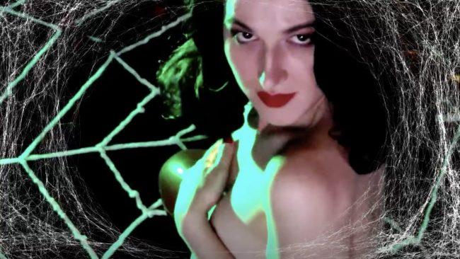 RocknRose's Stunning Black Widow Performance