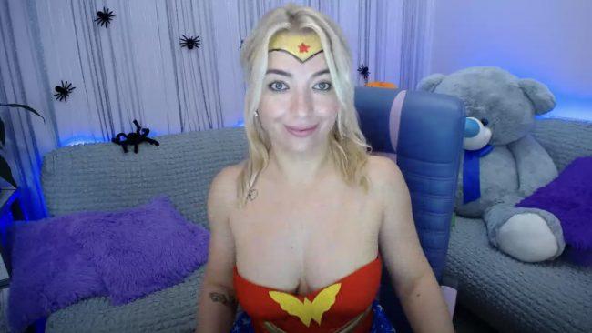 Drunk_Nata Is Wonder Woman