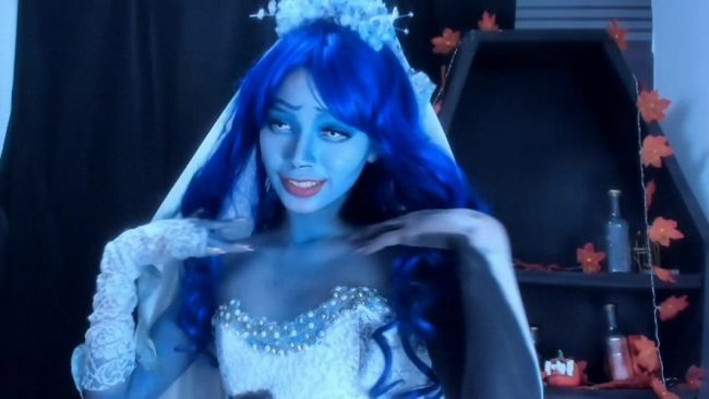 Corpse Bride Eli_Littlebunny Is Ready For Her Special Day