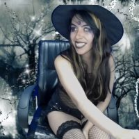 Sky_Girl1 And The Beauty Of A Witch's Darkness