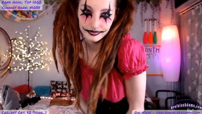 Creepy Clown BraisleeAdams' Graceful Horrors