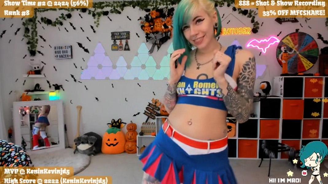 PrincessMao Throws a Sexy Halloween Party