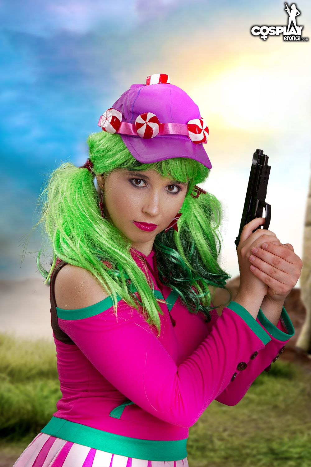 Cosplay Erotica's Stacy Goes Hunting As Zoey From Fortnite