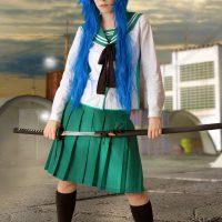 Cosplay Erotica's Cassie Goes Zombie Hunting As Saeko Busujima