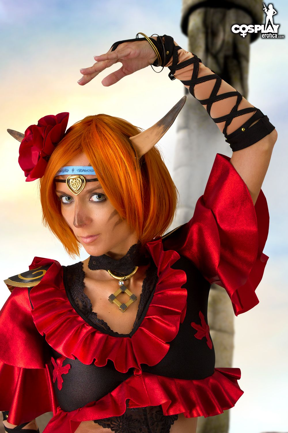 Cosplay Erotica's Lana Looks Purrfect As Mithra