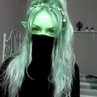 Elven_Dust Leaves Her Mask On