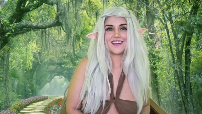 Cristina_Santana Welcomes Everyone To Her Elvish Paradise