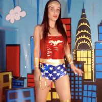 Kaatyperryy Fights For Justice As Wonder Woman