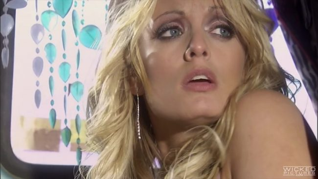 AdultTime: Stormy Daniels And Jessica Drake In A Road Trip Gone Awry