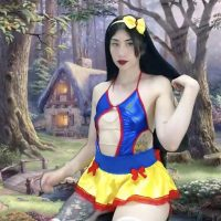 Mirror, Mirror On The Wall, Luluucandy Is The Fairest Snow White Of Them All