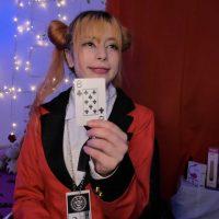 Eileen_Pinkman Is A Student Gambler In Kakegurui