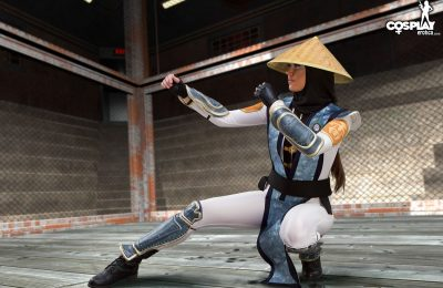 Cosplay Erotica's Arya Shows Off Her Form As Raiden
