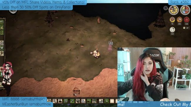 Don't Starve (With) LilRavenFox!