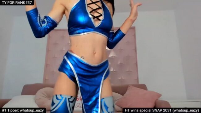 Sensationowl_'s Killer Dance Moves As Kitana