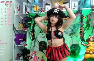 Aye, MelodyRinaldi Is A Positively Sexy Pirate